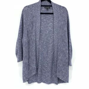 Banana Republic Blue Knit Open Front Cardigan